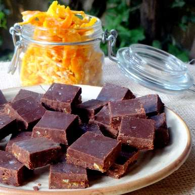 Photo of Orange Peel Dark Chocolates by Namita Tiwari at BetterButter