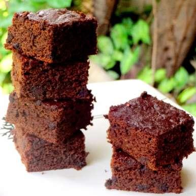 Photo of Double Chocolate Pumpkin Brownies by Namita Tiwari at BetterButter
