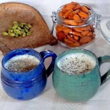 Photo of Elaichi Almond Milk by Namita Tiwari at BetterButter