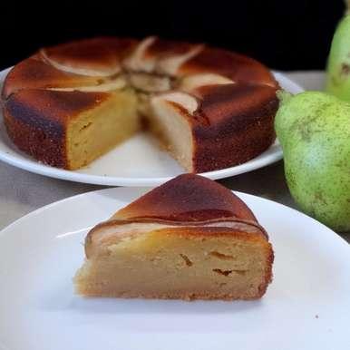 Photo of Honey Pear Cake by Namita Tiwari at BetterButter