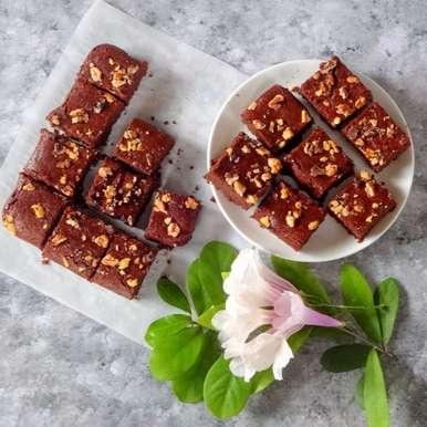 Photo of Eggless Buckwheat Brownies by Namita Tiwari at BetterButter
