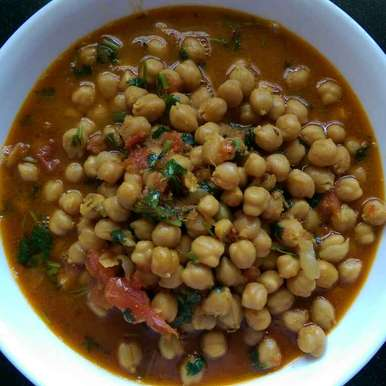 Photo of Chole ( no onion , no garlic ) by Nandini Mitra at BetterButter