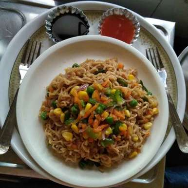 Photo of Pan fried instant noodles by Nandini Syam at BetterButter