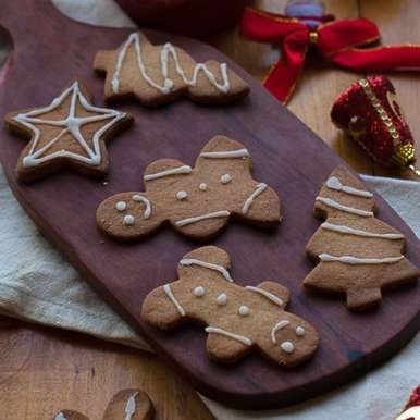 Photo of Gingerbread cookies by Nandita Shyam at BetterButter