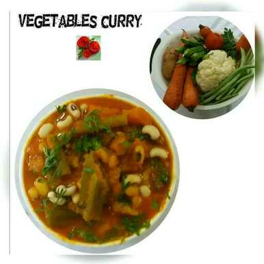 Photo of Vegetable curry by Nassu , at BetterButter