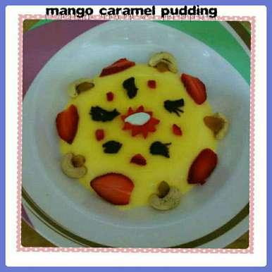 Photo of Mango Caramel Pudding by Nassu , at BetterButter