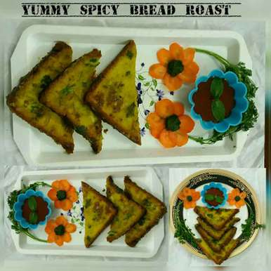 Photo of Yummy Spicy Bread Roast by Nassu , at BetterButter