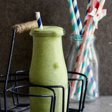 Photo of Spinach Orange Smoothie by Natasha Minocha at BetterButter