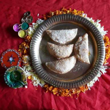Photo of Crispy Karanji by Nayana Palav at BetterButter