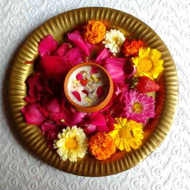 Photo of Strawberry Molasses Thandai by Nayana Palav at BetterButter