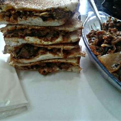 Photo of Cheese with cauliflowet manchurian sandwich by Nazeema Banu at BetterButter
