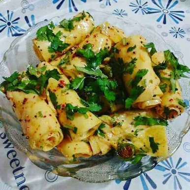 Photo of Khandvi by Neelam Barot at BetterButter