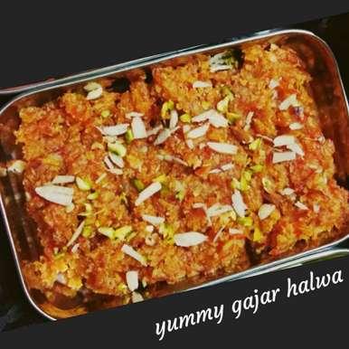 Photo of Halwai jaisa gajar ka halwa by Neelam Gupta at BetterButter