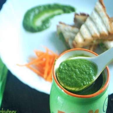 Photo of Green Chutney (coriander-mint chutney) by Neelima Katti at BetterButter