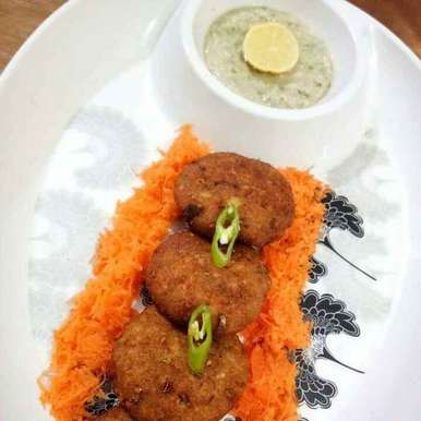 Photo of Soya Cheese Cutlets with Sprouts Guava Dip by Neelu Dua at BetterButter