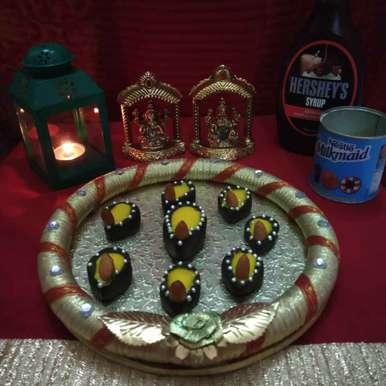 Photo of Choco Diya by Neena Pandey at BetterButter