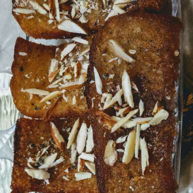 Photo of Baked sweet bread by Neeru Goyal at BetterButter