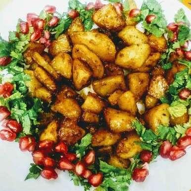 Photo of Crunchy potato chaat by Neeru Goyal at BetterButter