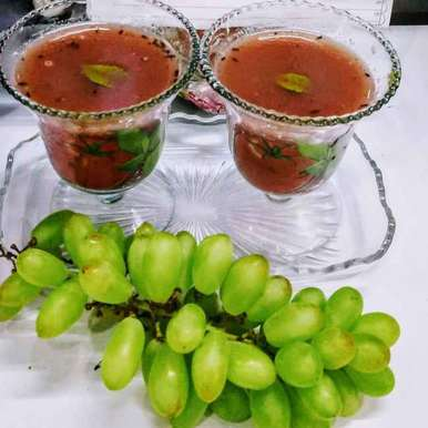 Photo of Grapes rasam by Neeru Goyal at BetterButter