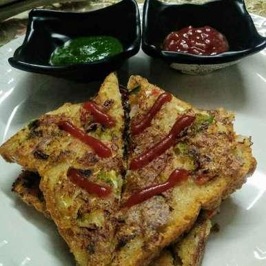 Photo of Suji veggie toast by Neeru Goyal at BetterButter