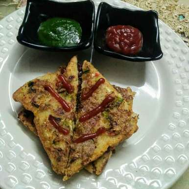 Photo of Suji veggie toast by Neeru Goyal at BetterButter