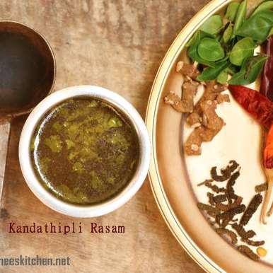 Photo of Kandathipli Rasam by Neeru Srikanth at BetterButter