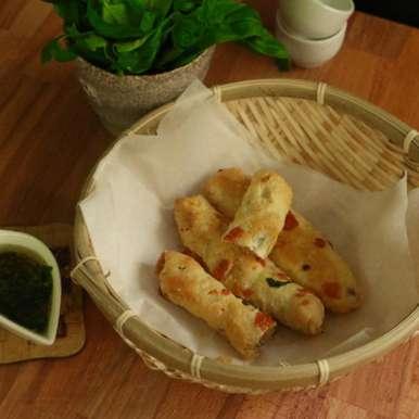 Photo of Cheese and Bread stuffed puffs by Neeru Srikanth at BetterButter