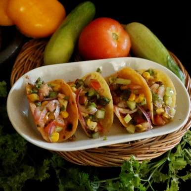 Photo of Tacos with Salad by Neeru Srikanth at BetterButter
