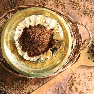 Dried Neemflower Powder | Vepampoo Podi, How to make Dried Neemflower Powder | Vepampoo Podi