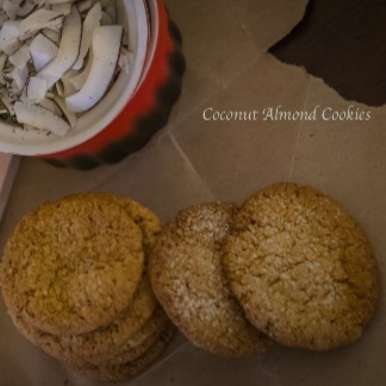 Photo of Coconut Almond Cookies by Neetha Bagepalli at BetterButter