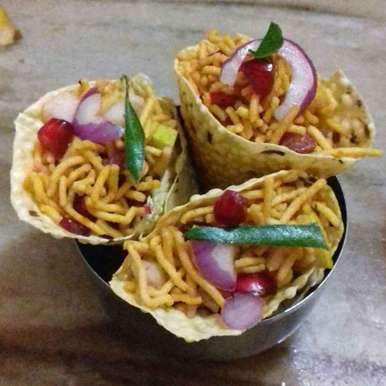 Photo of Papad cones by Neha Manglani at BetterButter
