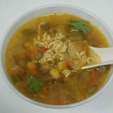 Photo of Thukpa Veg Soup by Neha Pahilwani at BetterButter