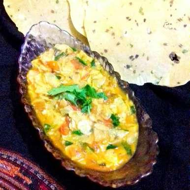 Photo of papad curry by Neha Mangalani at BetterButter