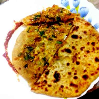 Photo of papad paratha by Neha Mangalani at BetterButter
