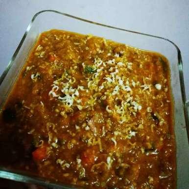 Photo of Navratan Korma (tomato twist) by Vegetarian Rasoi at BetterButter