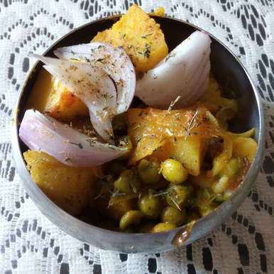 Photo of Matar Aloo by Neha Seth at BetterButter