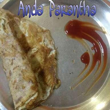 Anda Parantha, How to make Anda Parantha