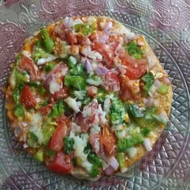 Photo of Chapati pizza by Neha Sharma at BetterButter