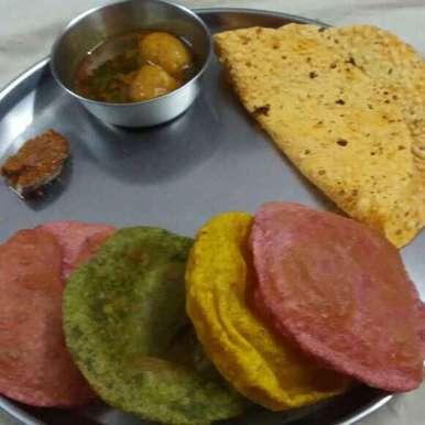 Photo of Rang birangi poori by Neha Sharma at BetterButter