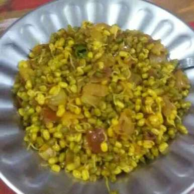 Photo of Moong sprout salad by Neha Sharma at BetterButter