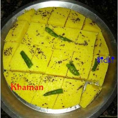 Photo of Khaman by Nidhi Ashwani at BetterButter