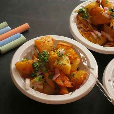 Photo of Aloo Chaat by Niharika Bhide at BetterButter