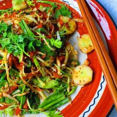 Photo of Som Tum or Green Papaya Salad by Niharika Bhide at BetterButter