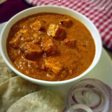 Photo of Paneer Tikka Masala by Nilanjana Bhattacharjee Mitra at BetterButter