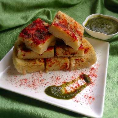 Photo of 5 Minutes microwave khatta/white Dhokla by Nilanjana Bhattacharjee Mitra at BetterButter