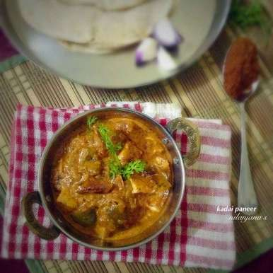 Photo of Kadai Paneer by Nilanjana Bhattacharjee Mitra at BetterButter