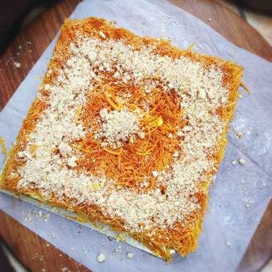 Photo of Kunafa | Arabian or Middle eastern Dessert by Nilanjana Bhattacharjee Mitra at BetterButter