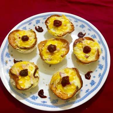Photo of comfort breakfast cups by Nilanjana Bhaumik at BetterButter