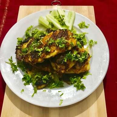 Photo of pan fried Sambal telapia by Nilanjana Bhaumik at BetterButter