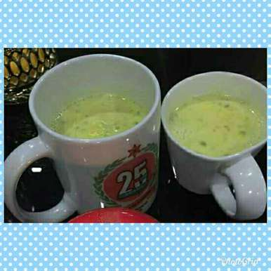 Photo of Badam milk by nilopher meeralavai at BetterButter